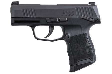 SIG SAUER P365 9MM WITH MANUAL SAFETY