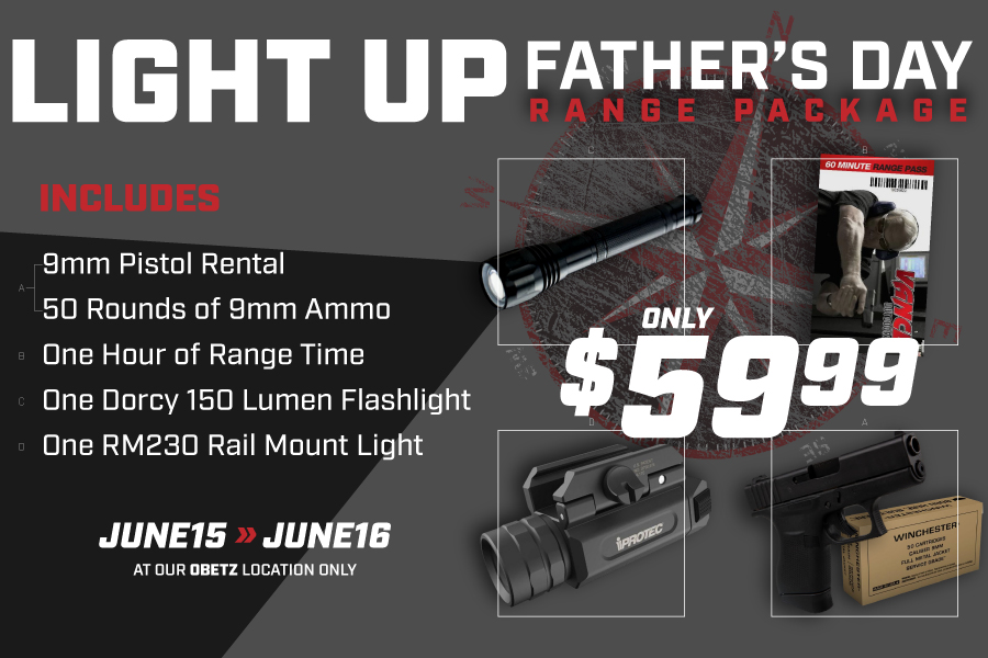 LIGHT UP FATHERS DAY RANGE PACKAGE 2019