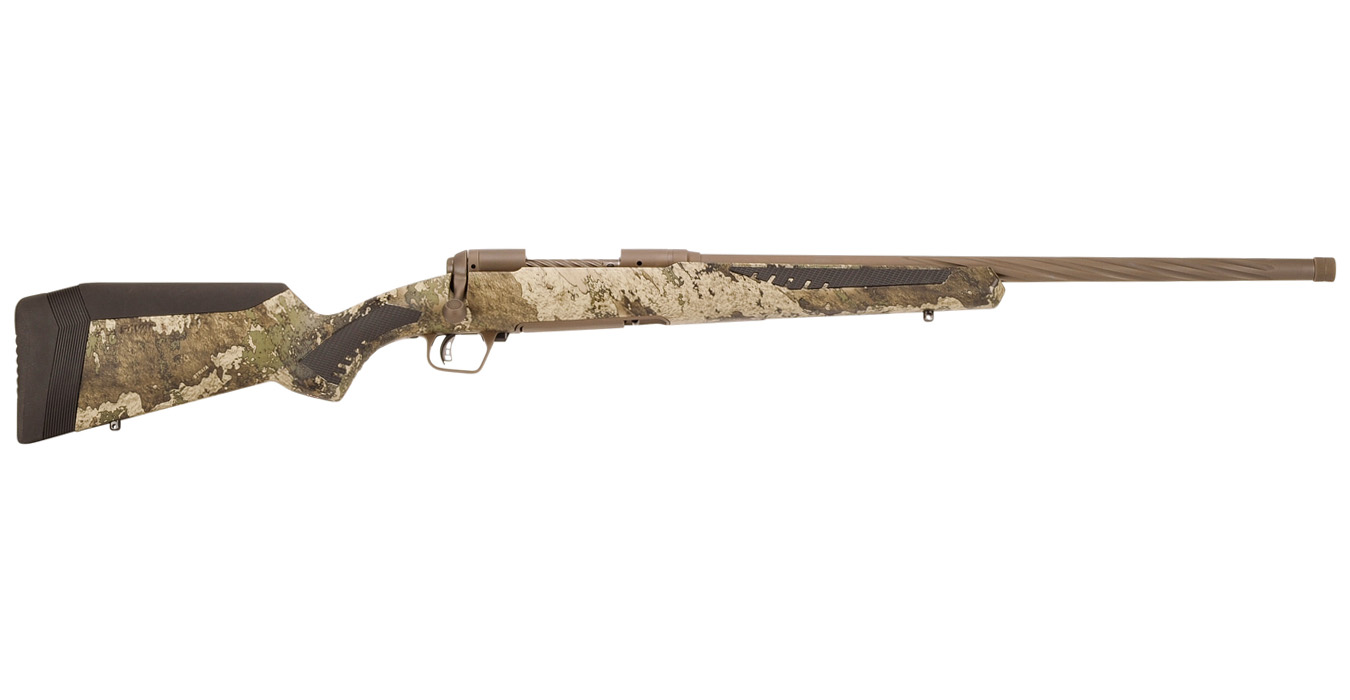 110 High Country 7mm Rem Mag Bolt-Action Rifle with Camo Stock