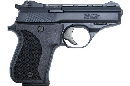 HP22 22LR RIMFIRE PISTOL WITH BLACK FINISH