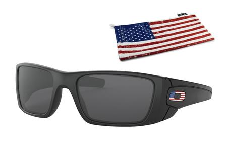OAKLEY FUEL CELL MATTE BLACK FLAG LOGO