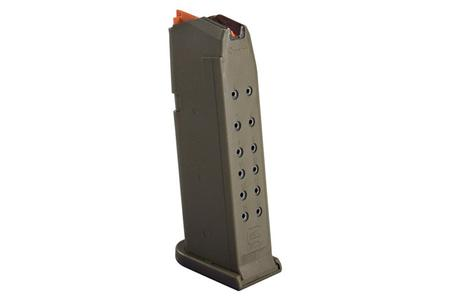 GLOCK 19 9mm OD Green 15-Round Magazine with Orange Follower