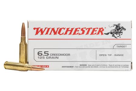 Winchester 6.5 Creedmoor 125 gr FMJ Open Tip USA 40 Round Value Pack