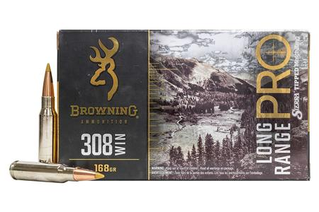 BROWNING AMMUNITION 308 WIN 168 gr Sierra Tipped MatchKing Long Range Pro 20/Box