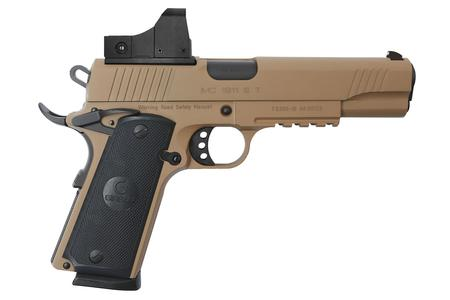 GIRSAN MC1911S GOVERNMENT 45ACP FDE WITH RED DOT