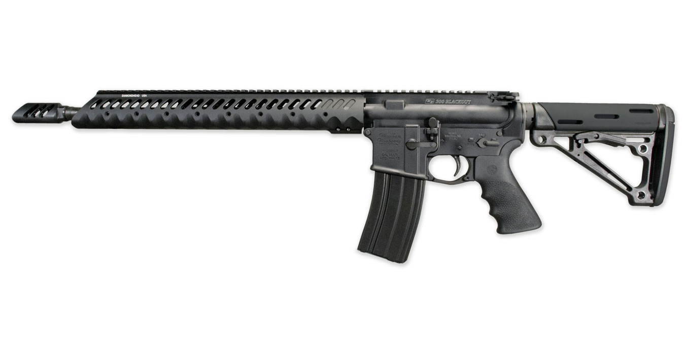 No. 36 Best Selling: WINDHAM WEAPONRY WW-15 300 BLACKOUT DIAMONHEAD RAIL