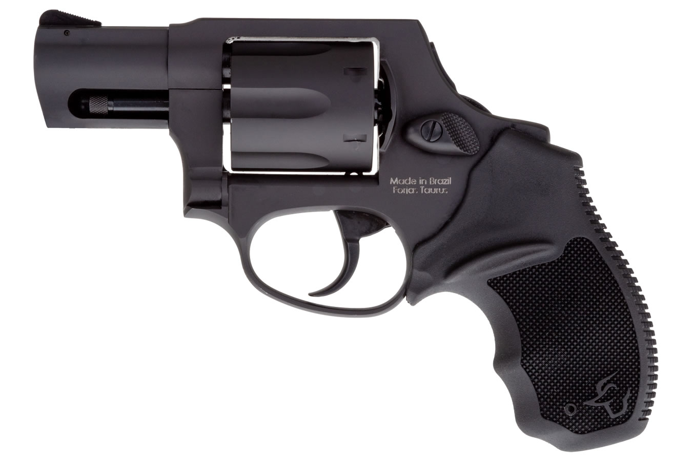 856 Ultra Lite 38 Special Black Double-Action Revolver with Concealed Hammer