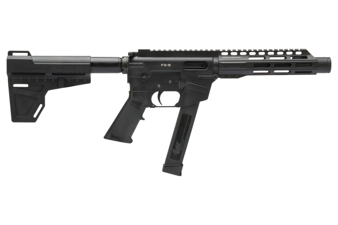 No. 33 Best Selling: FREEDOM ORDNANCE FX-9 9MM AR PISTOL 8.25 / SHOCKWAVE BLADE STOCK