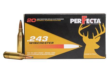 Perfecta 243 WIN 100 gr Soft Point 20/Box