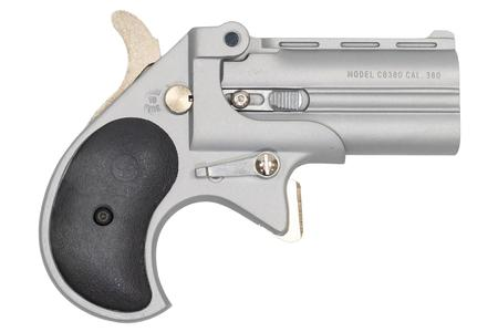 Cobra Enterprise Inc 380 ACP Derringer with Satin Nickel Cerakote Finish