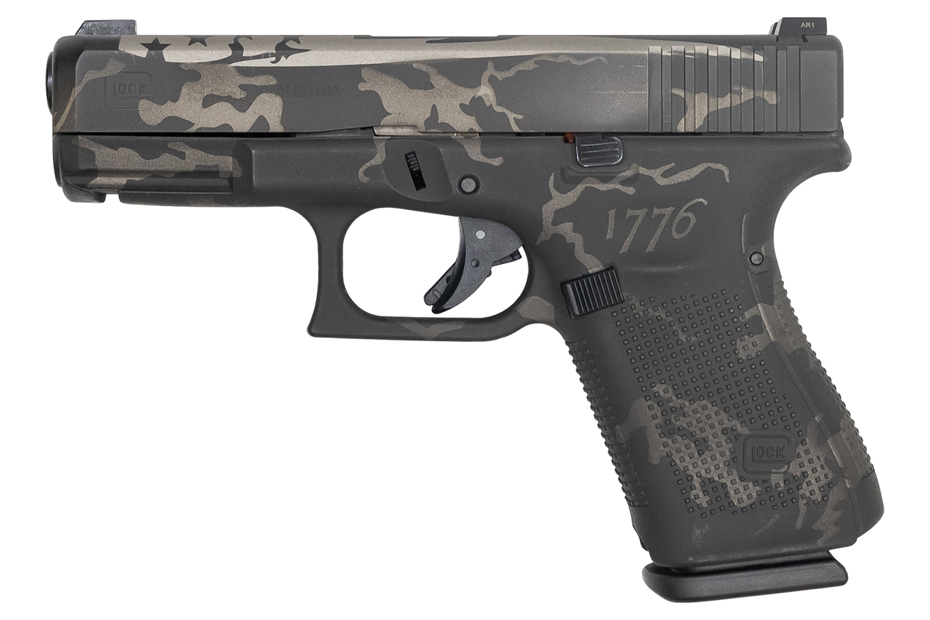 No. 30 Best Selling: GLOCK 19 GEN5 1776 BLK/GRY CAMO