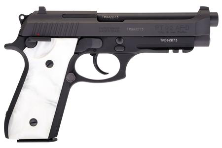 Taurus 92 9mm DA/SA Pistol with White Pearl Grips