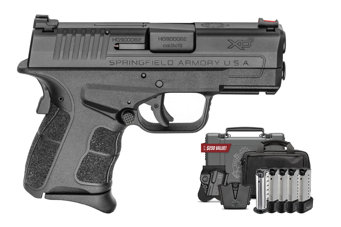 No. 9 Best Selling: SPRINGFIELD XDS MOD.2 9MM INSTANT GEAR UP PACKAGE
