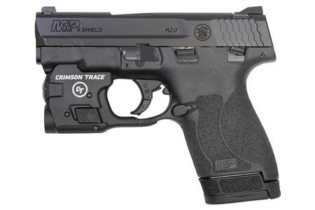 Smith & Wesson M&P9 Shield M2 0 9mm with Crimson Trace Light and Lockdown  Handgun Vault