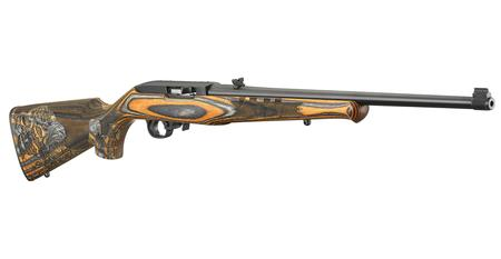 RUGER 10/22 ROYAL BENGAL TIGER RIFLE ORANGE  BLACK LAMINATE STOCK