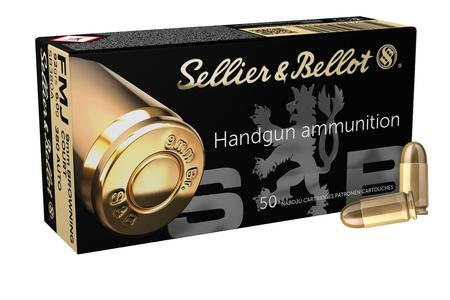 SELLIER AND BELLOT 380 Auto 92 gr Full Metal Jacket 50/Box