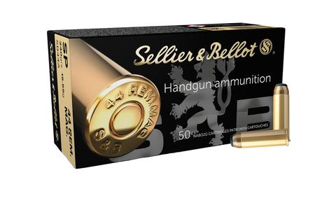 SELLIER AND BELLOT 44 Rem Mag 240 gr Soft Point 50/Box