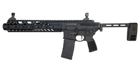 Sig Sauer MCX Virtus Tacops 300 Blackout Pistol with PCB Brace, M-LOK Rail  and Inert Training Device