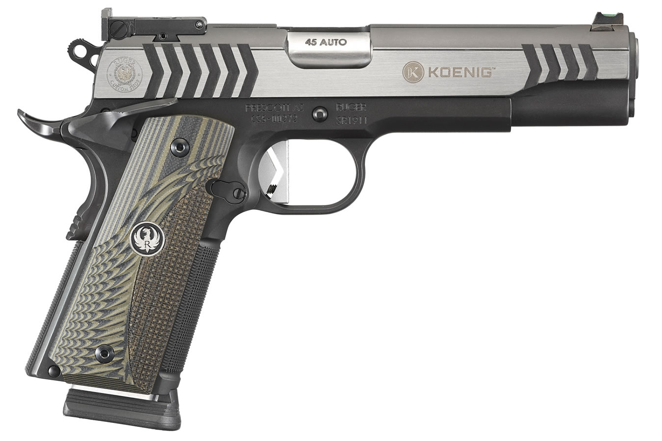 No. 4 Best Selling: RUGER SR1911 COMPETITION 45 AUTO