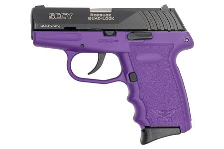 CPX-3 380 ACP PURPLE FRAME AND BLACK SLIDE
