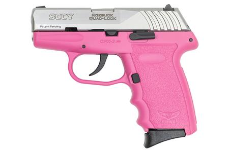 CPX-3 380 ACP PINK FRAME STAINLESS SLIDE