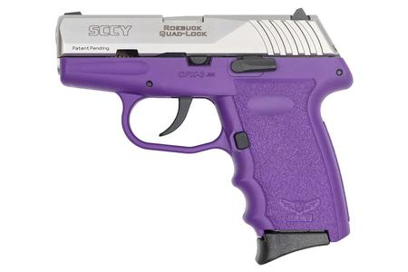 SCCY CPX-3 380 ACP PURPLE FRAME STAINLESS SLIDE