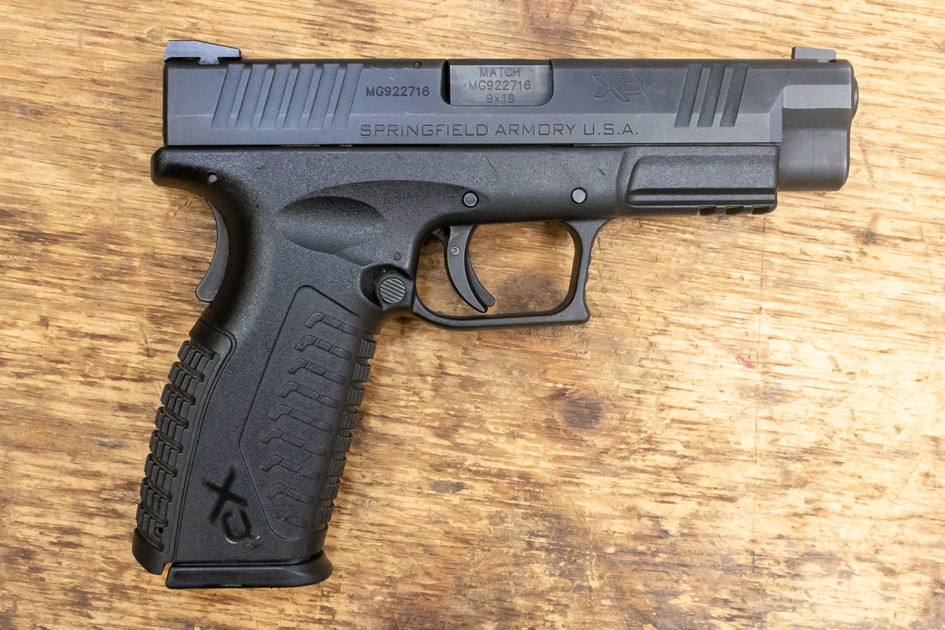 No. 18 Best Selling: SPRINGFIELD XDM 4.5 9MM USED