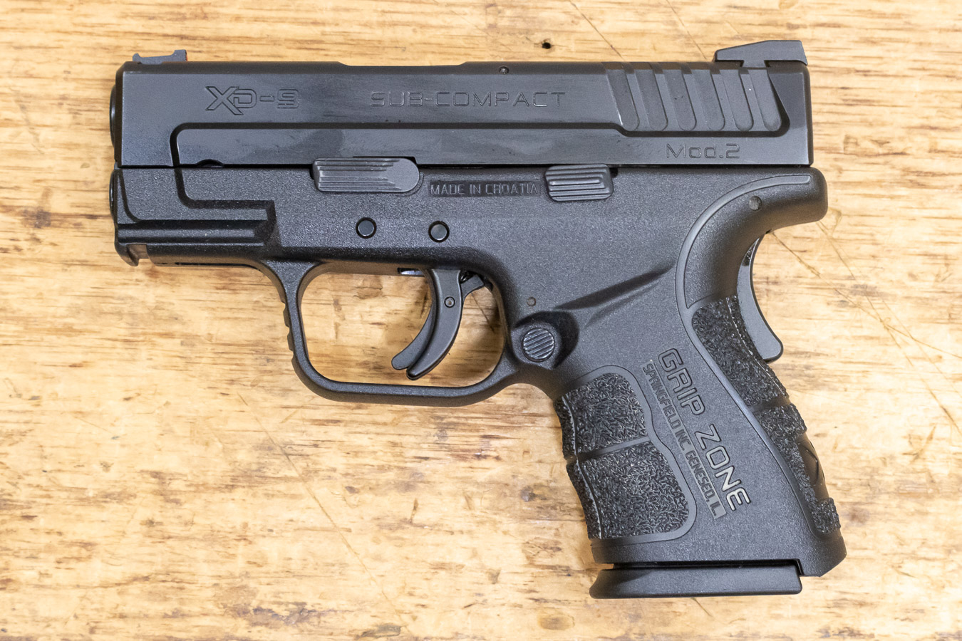 No. 17 Best Selling: SPRINGFIELD XD MOD.2 SUB-COMPACT 9MM USED