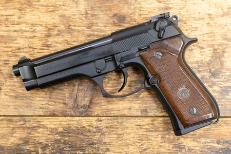 Beretta 92F 9mm 15-Round Trade-in Pistol with Wood Grips