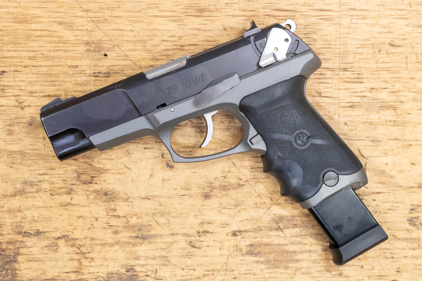 P90 45 ACP Used Pistol with Aftermarket Extended Magazine