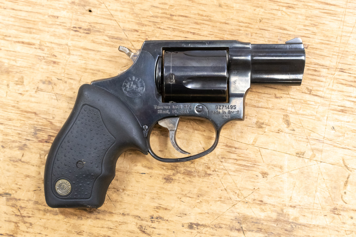 605 USED .357MAG REVOLVER USED