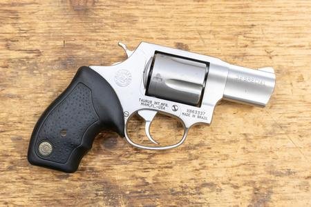 Taurus 85 38 Special Stainless Used Trade-in Revolver with Black Rubber  Grips