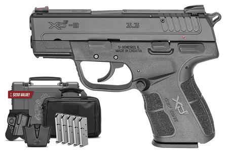 SPRINGFIELD XD-E 9MM DA/SA CONCEALED CARRY PISTOL WITH INSTANT GEAR UP PACKAGE