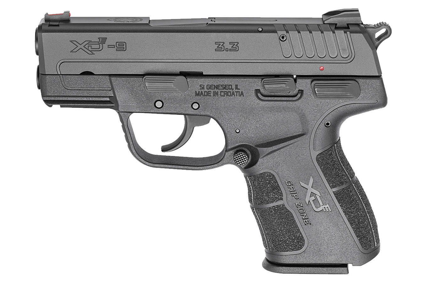 No. 2 Best Selling: SPRINGFIELD XDE 9MM EDC PACKAGE 3.3` BBL 9 RND MAG