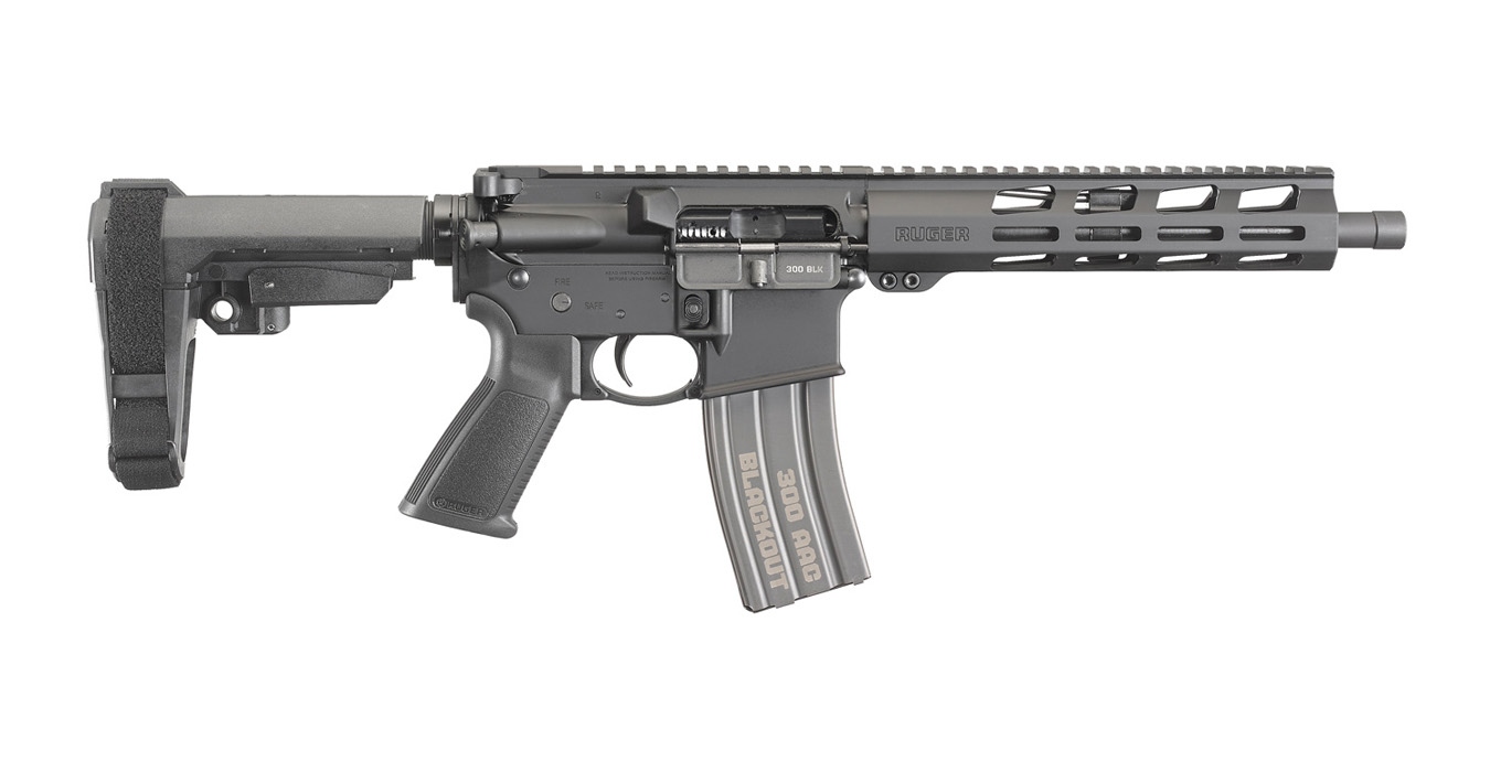 Ruger Ar 556 300 Blackout Semi Automatic Pistol With Sb Tactical Stabilizing Brace Sportsman S Outdoor Superstore