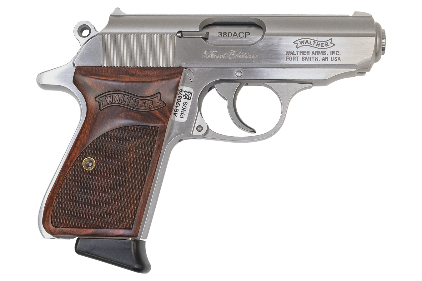 Walther PPK/S 380 ACP Stainless Carry Conceal TALO Exclusive with