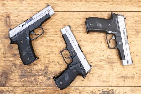 Sig Sauer P226 40 S&W Ohio State Highway Patrol DAK Police Trade-In Pistol  (Good Condition)
