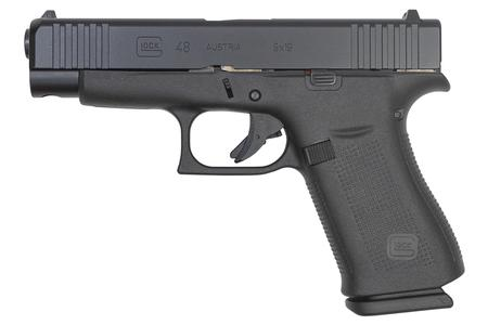 GLOCK 48 SINGLE STACK 9MM BLK NITRIDE SLIDE