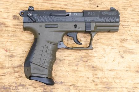 Walther P22 22LR 10-Round Used Trade-in Pistol