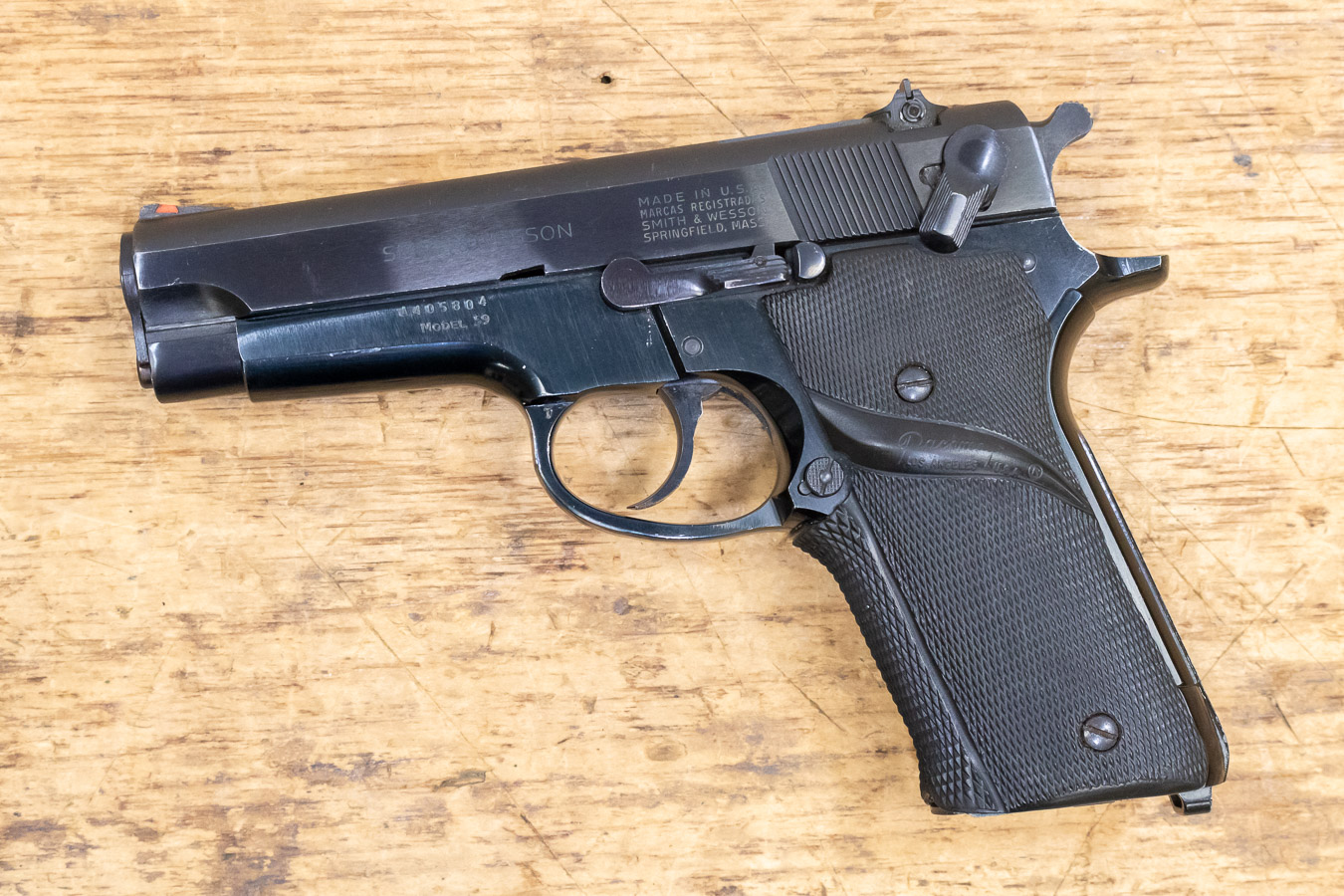 SMITH AND WESSON MODEL 59 9MM 14-ROUND USED TRADE-IN PISTOL