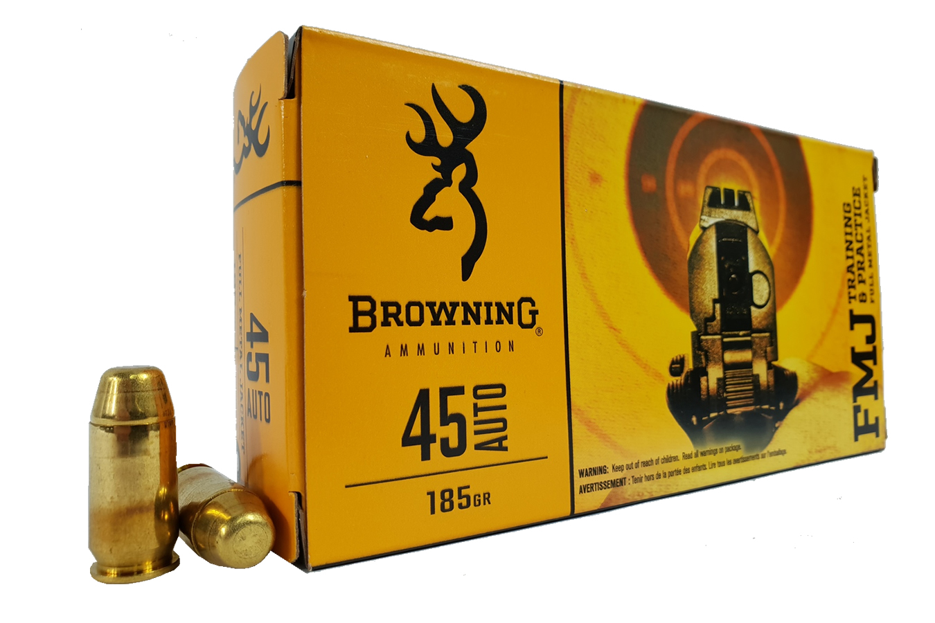 45 ACP 185 GR FMJ TRAINING AND PRACTICE 50/BOX