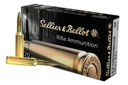 Sellier And Bellot 6.5 Creedmoor 131 Grain Soft Point 20/Box