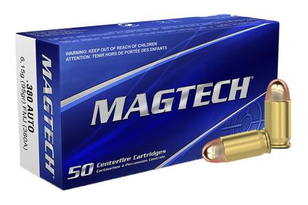 MAGTECH 380 ACP 95 gr Full Metal Jacket 50/Box
