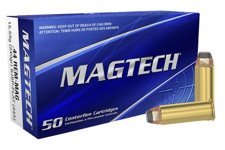 MAGTECH 44 Rem Mag 240 gr Jacketed Soft Point- Flat 50/Box