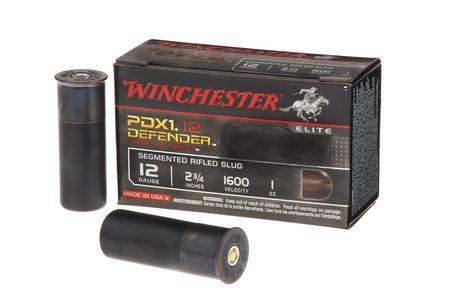 Winchester 12 Gauge 2-3/4 Inch 1 oz Segmented Rifled Slugs PDX1 Defender 10/Box