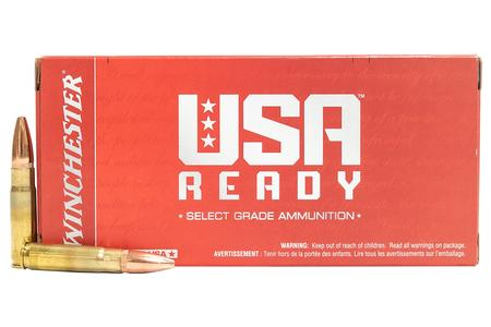 Winchester 300 Blackout 125 Gr Open Tip USA Ready 20/Box