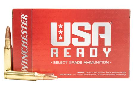 WINCHESTER AMMO 308 Win 168 gr Open Tip USA Ready 20/Box