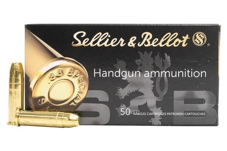 Sellier And Bellot 38 Special 158 gr FMJ 50/Box
