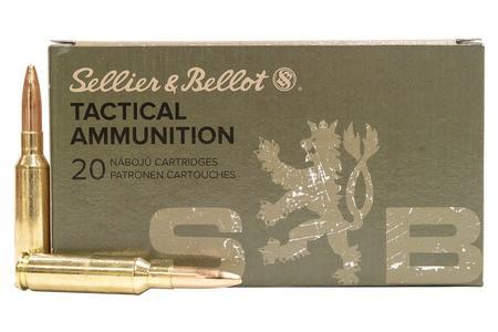 SELLIER AND BELLOT 6.5 Creedmoor 140 gr Full Metal Jacket 20/box