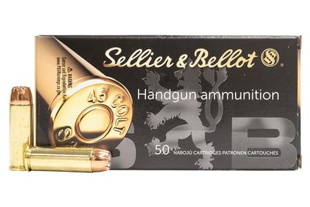 SELLIER AND BELLOT 45 Long Colt 230 gr Jacketed Hollow Point 50/Box